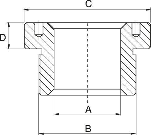 Druckstücke für hohlkolben-zylinder