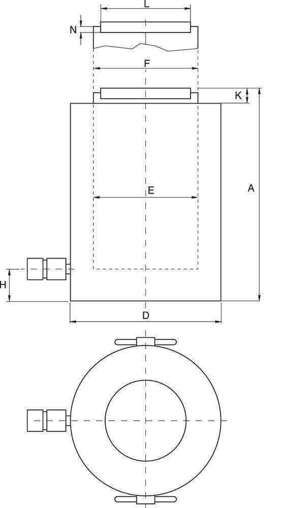 Technisch Zeichnung