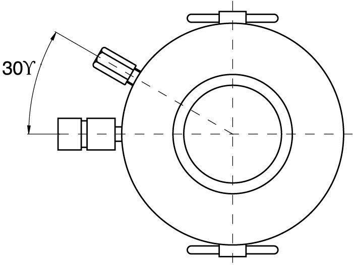 Dubbelverkande Högtonnage-Cylindrar - ritning