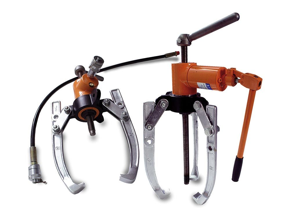 Kompakt and Kombi Accessory Puller with 2 or 3 clamps 8–10 ton